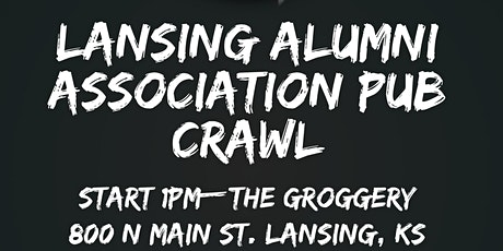 Lansing Alumni Association Pub Crawl tickets