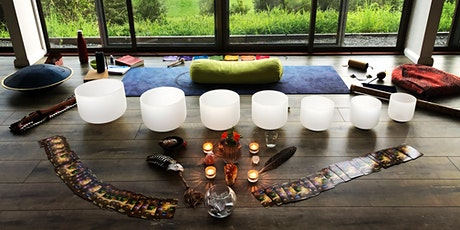 Full Moon  Sound healing and Yin Yoga tickets