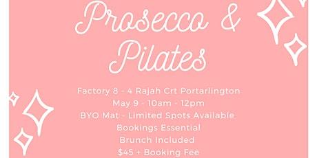 Prosecco & Pilates tickets