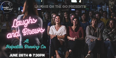 Laughs and Brews at Halpatter Brewing Co.  - A Live Stand Up Comedy Event tickets