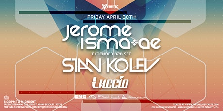 JEROME ISMA AE b2b STAN KOLEV @ Treehouse Miami tickets