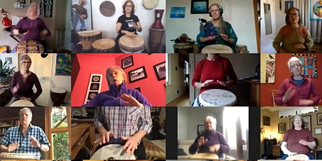 Intro to Hand Drumming Online (by donation) tickets