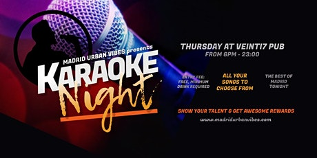 Karaoke Night & Language Exchange! Thursday tickets