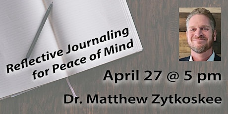 Reflective Journaling for Peace of Mind tickets