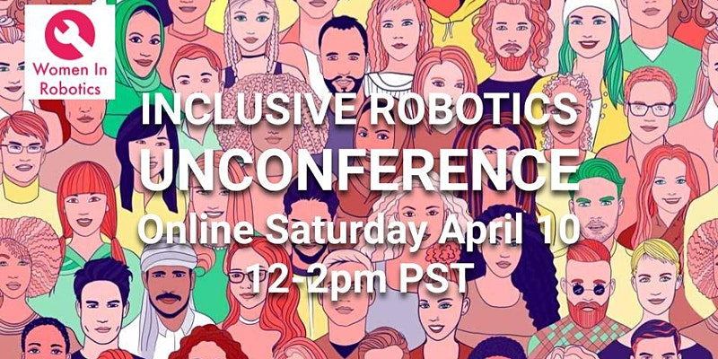 Inclusive Robotics Unconference logo