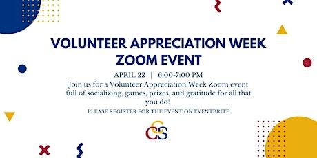 Volunteer Appreciation Week Zoom Night tickets