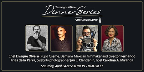 LA Times Dinner Series: Enrique Olvera Dinner with the Stars tickets