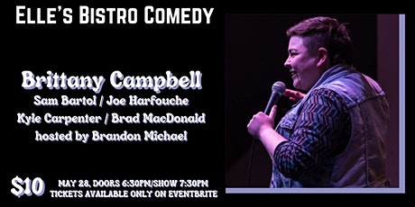Elle's Bistro Comedy: Brittany Campbell tickets
