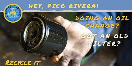 Pico Rivera FREE Used Oil Filter Exchange @ AutoZone tickets