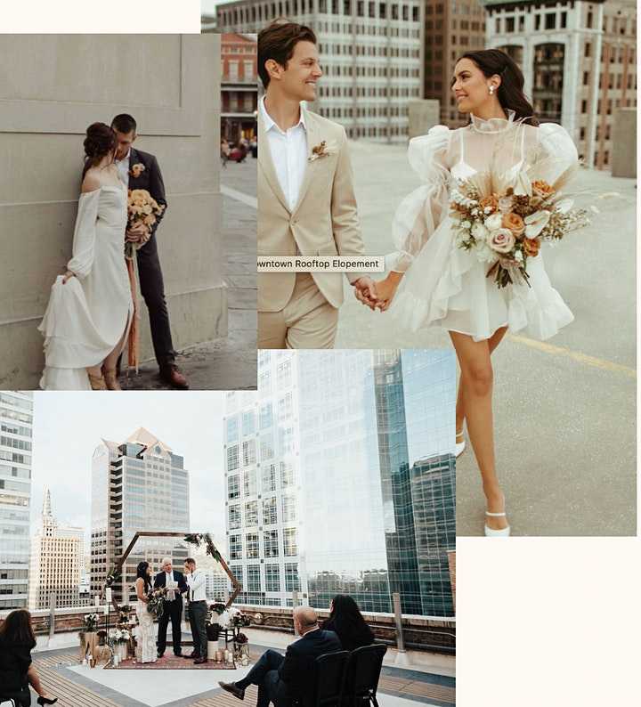 Urban Styled Elopement Group TWO image