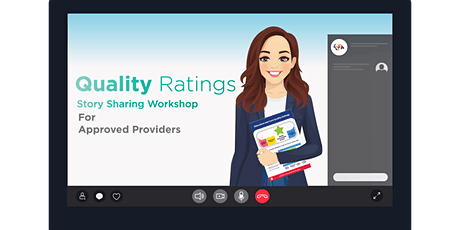 Quality Ratings Initiative - Approved Providers Story Sharing Session tickets