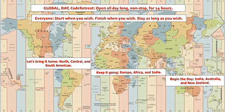 24 HOUR GLOBAL DAY - CodeRetreat, and a bit more - MAY 8 tickets