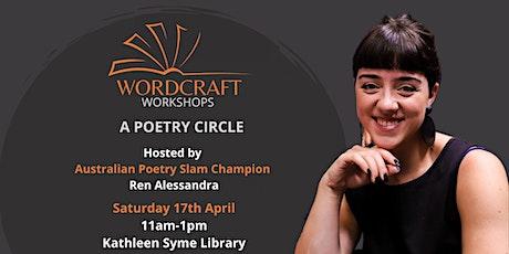 Wordcraft Workshops - Poetry Circle tickets
