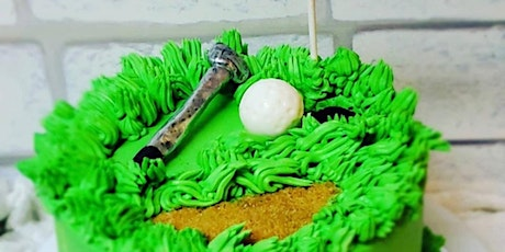 Parent & Me Class: Golf Themed Father's Day Cake Decorating Class tickets