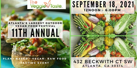 The Veggie Taste - 11th Annual - 9.18.21 tickets