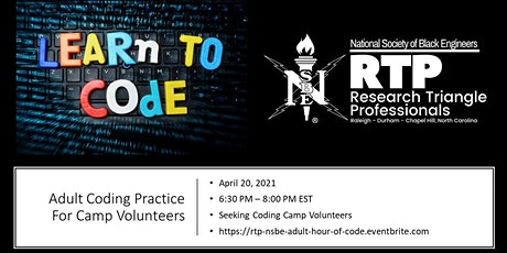 RTP NSBE Hour of Code - Adult Learning Event Tickets