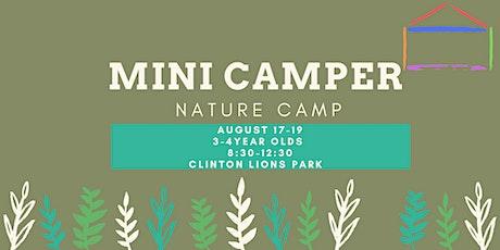 Mini Camper - Nature Camp tickets