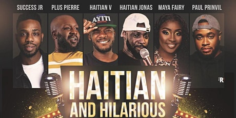 Haitian & Hilarious Comedy Tour NAPLES tickets