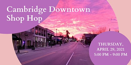 Cambridge Downtown Shop Hop tickets