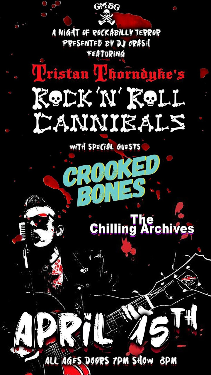 A Night of Rockabilly Terror Featuring Rock N Roll Cannibals image