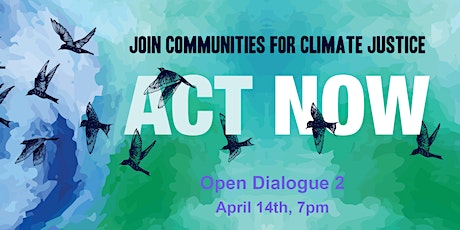 Open Dialogue 2 about Faith Leadership on Climate Justice in WR tickets