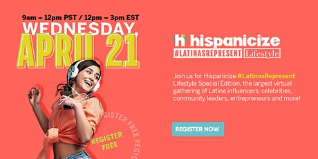 Hispanicize #LatinasRepresent tickets