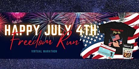 July 4th Freedom Virtual Run tickets