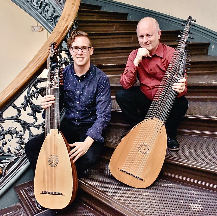"""Duo Silvio""  Featuring Lutenists Richard Stone and  Cameron Welke image"