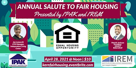 Annual Salute to Fair Housing tickets