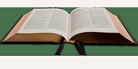 All April: Online Bible Presentations tickets
