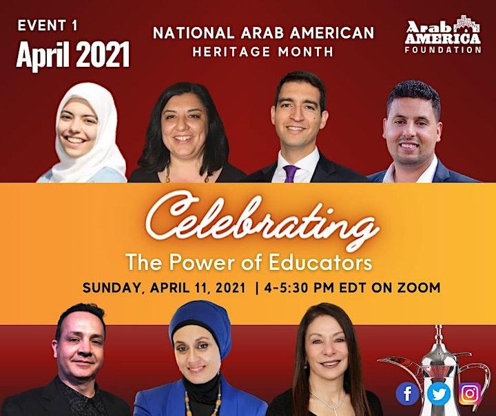 National Arab American Heritage Month image