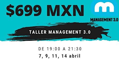 Taller Management 3.0 casi GRATIS entradas