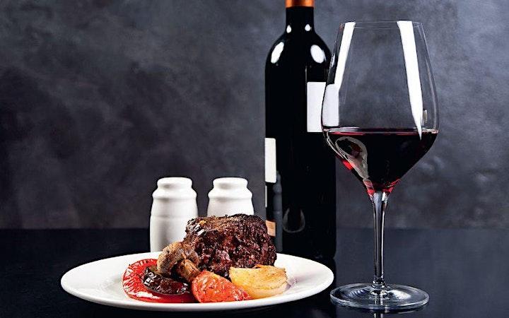 Merivale Wine Merchant: I see RED - Wine & Beef Tasting image