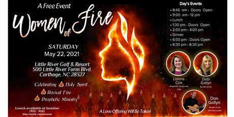 Women of Fire tickets