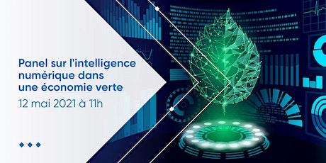 Panel sur l'intelligence numérique dans une économie verte billets