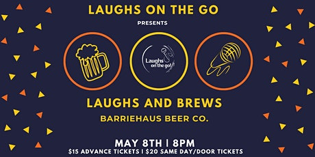 Laughs on the Go: An Evening of Touring Comedy at BarrieHaus Beer Co. tickets
