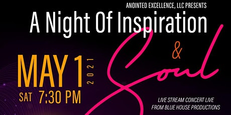 A Night Of Inspiration & Soul tickets
