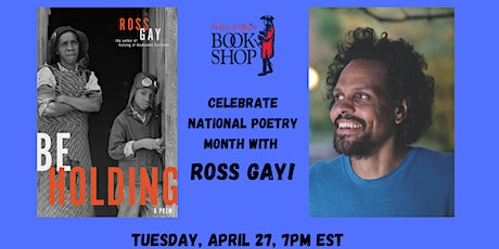 Celebrate National Poetry Month with Ross Gay tickets