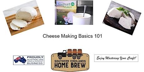 Cheese & Yoghurt Basics 101 tickets