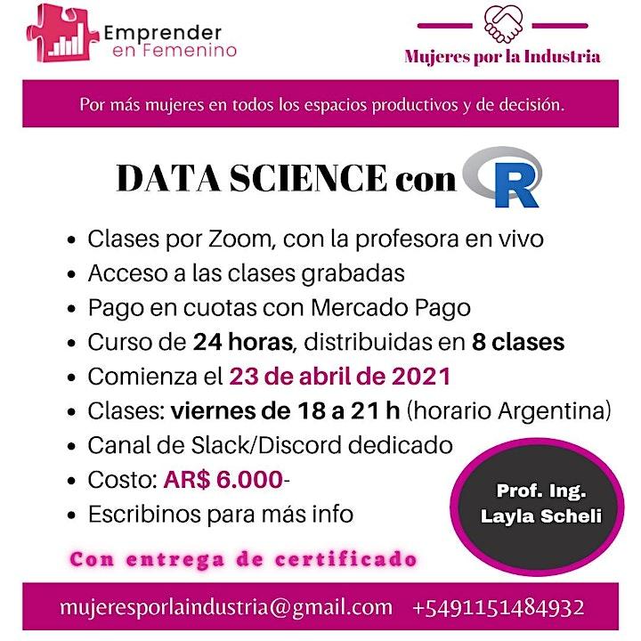 Imagen de Mujeres en Data Science Con R