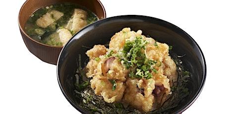 丼丼屋每日限定贅沢「廣島八爪魚天丼」 tickets
