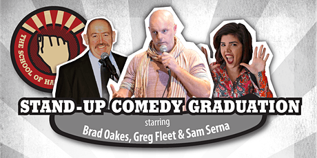 Stand-up Comedy Graduation with Greg Fleet tickets