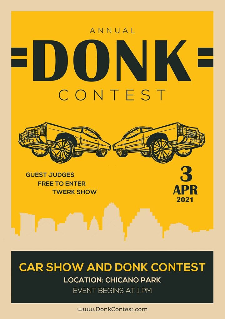 2021 Annual Donk Contest Texas Relays Car Show and Cultural Event image