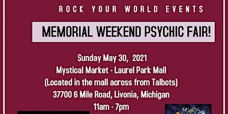 Memorial Weekend Psychic Fair in Livonia! tickets
