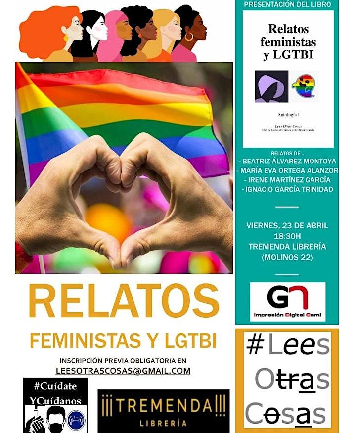 Imagen de Presentación del libro 'Relatos feministas y LGTBI - Antología I'