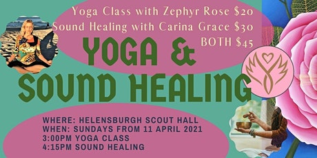 Yoga Classes and Sound Healing in South Sydney tickets