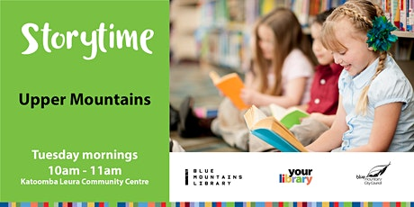 Upper Mountains Storytime Tuesday 25th May2021 tickets