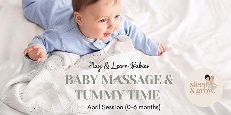 April Session: Play & Learn Babies (0-6 months) tickets