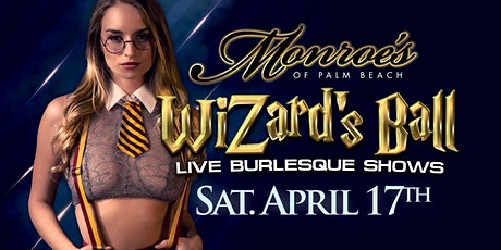 The Wizards Ball at Monroes of Palm Beach tickets