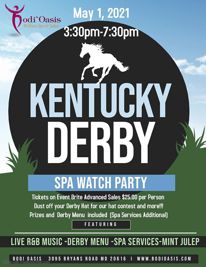 1st Annual Kentucky Derby Spa Watch Party image